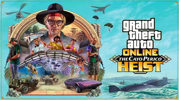 GTA Online: The Cayo Perico Heist è ora disponibile