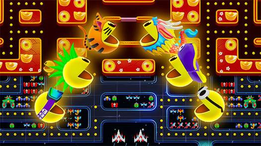 PAC-MAN Mega Tunnel Battle nuovo DLC disponibile da oggi