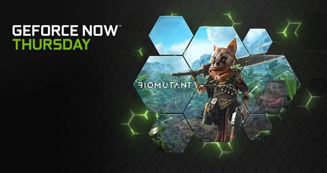 GeForce NOW: Biomutant e altri 15 giochi in arrivo