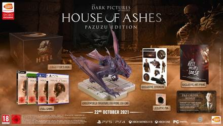 The Dark Pictures Anthology: House of Ashes arriva a ottobre