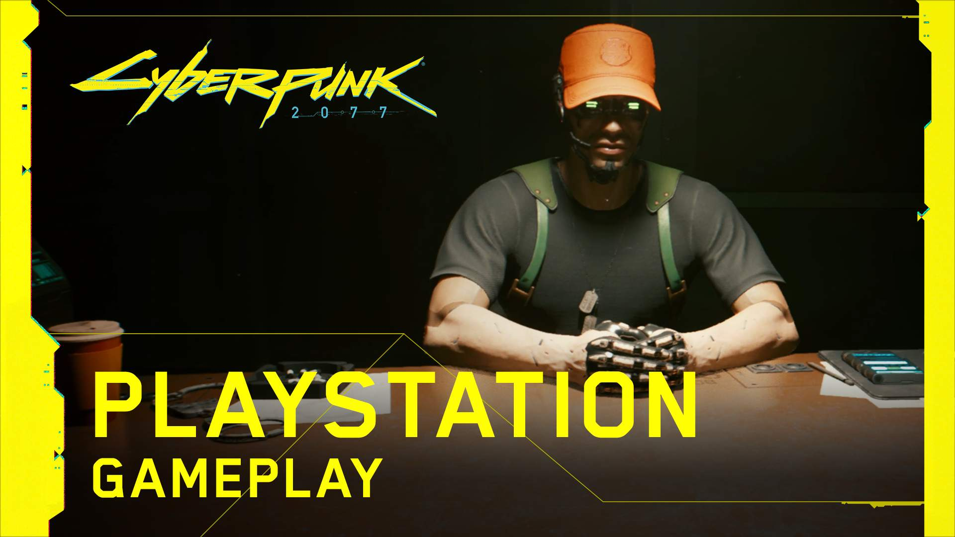 Cyberpunk 2077 video gameplay su PlayStation