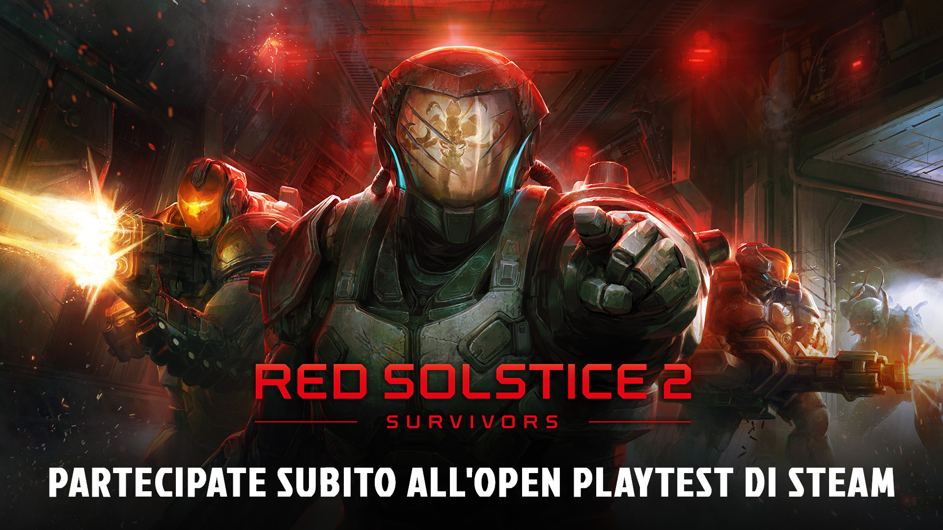 Il Playtest di Red Solstice 2 è ora accessibile gratuitamente su Steam