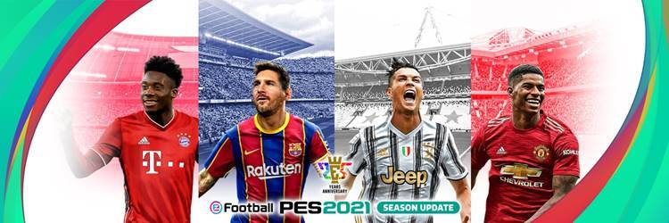 IL DATA PACK 3.0 DI eFootball PES 2021 È DISPONIBILE ORA