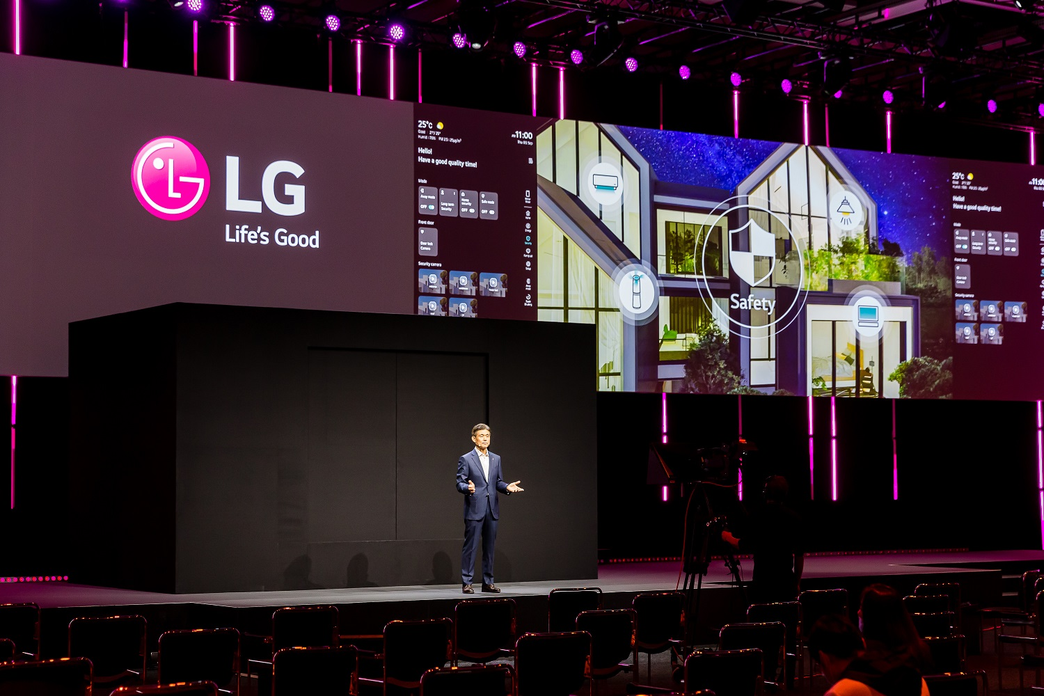 IFA  2020 LG presenta life's good from home