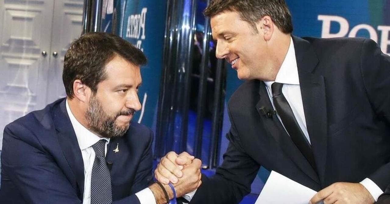 Renzi il salva tutti: prima Bonafede, ora Salvini