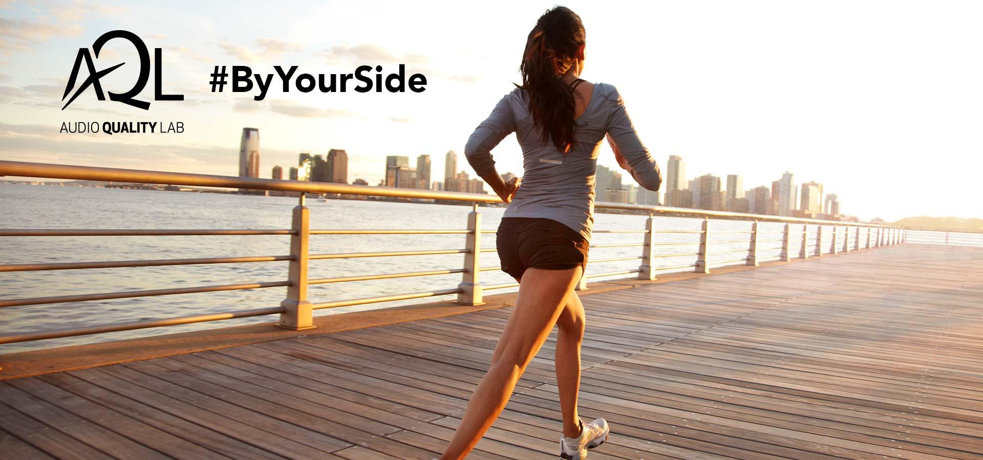 ByYourSide: la maratona di AQL che unisce gli amanti della corsa