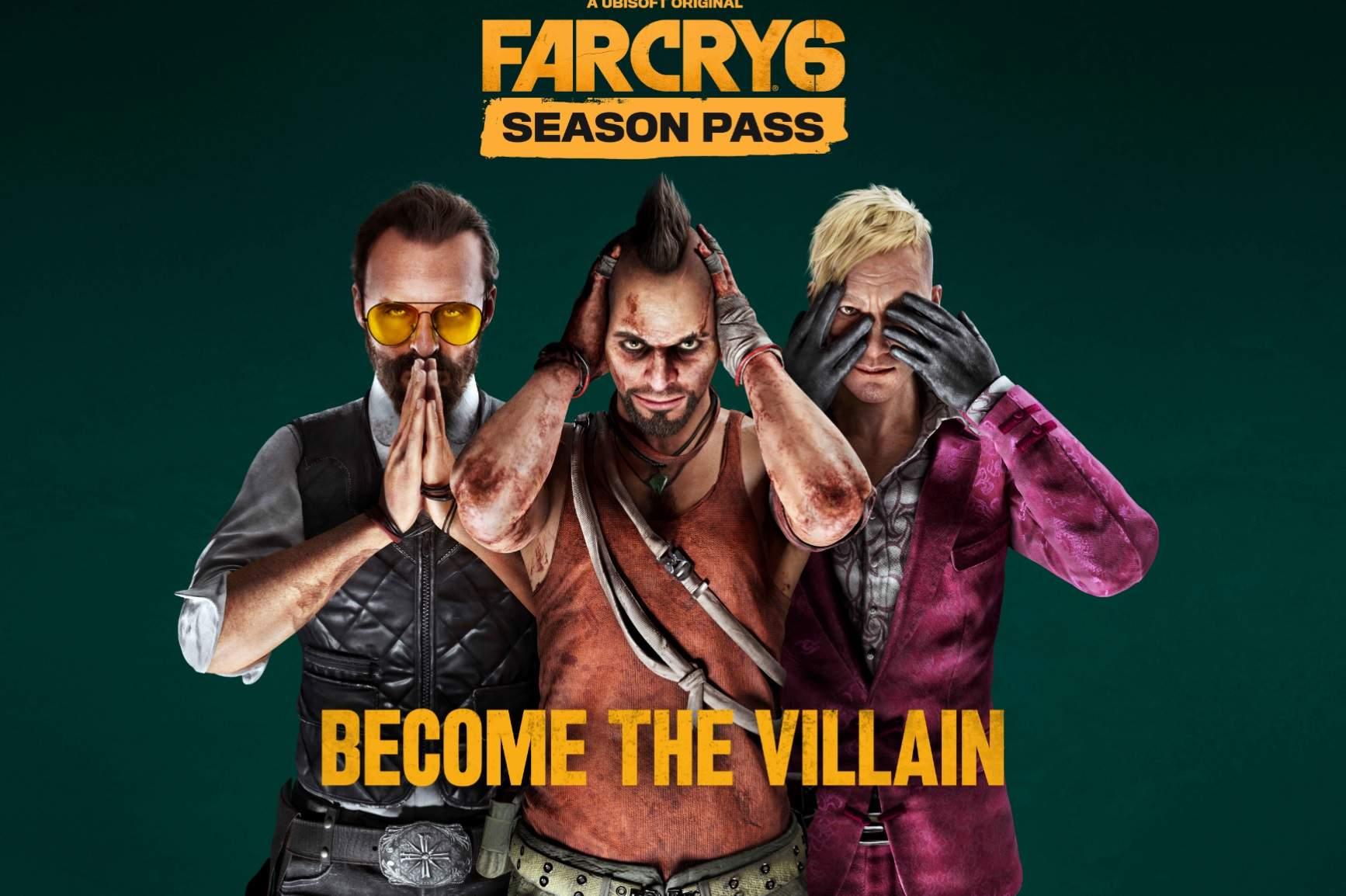 Far Cry 6 svela i contenuti del Season Pass