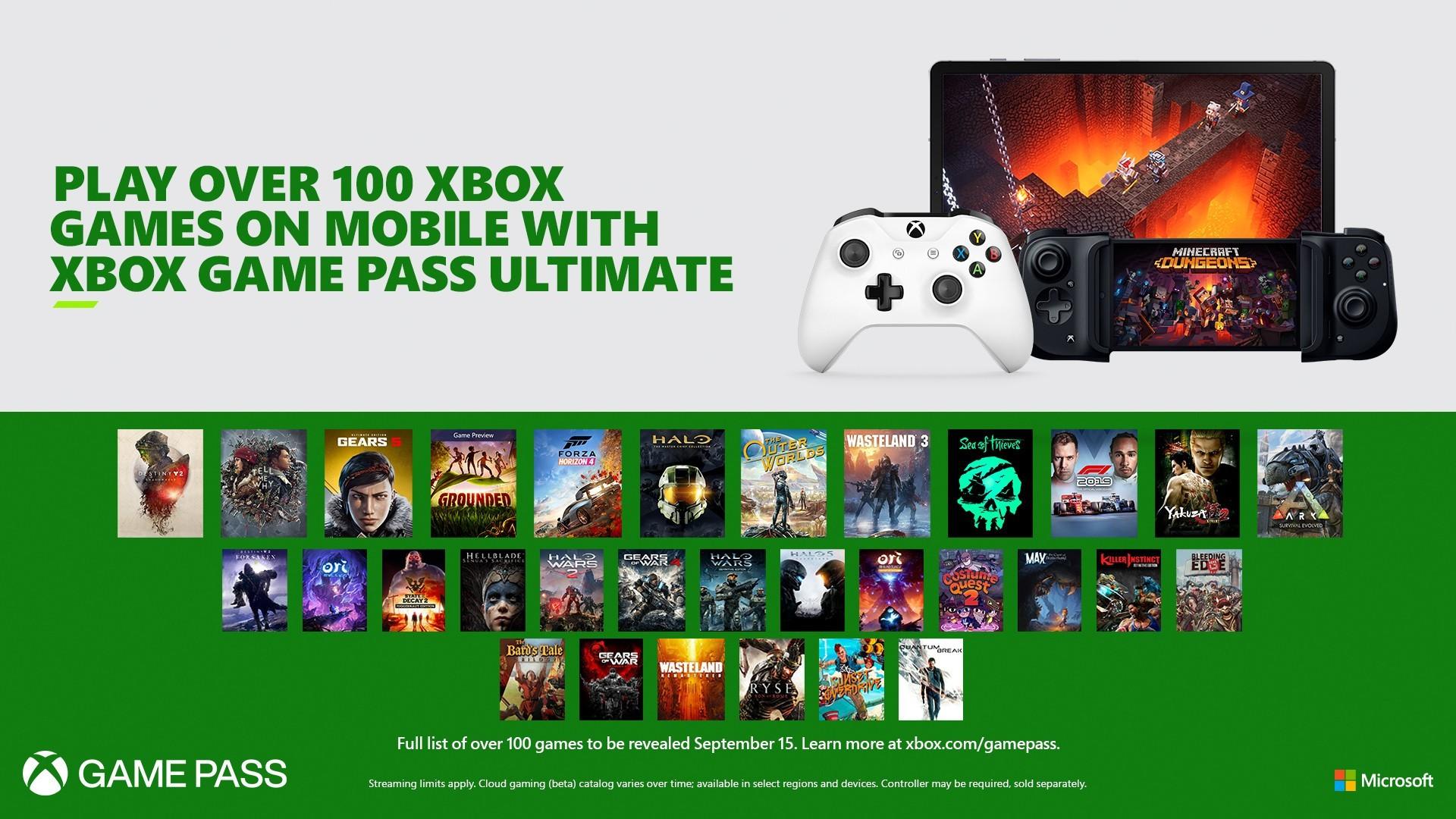Xbox svela la lineup di 150 titoli su Xbox Game Pass Ultimate