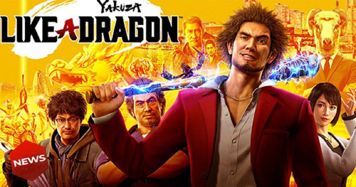 Yakuza: Like a Dragon arriva il 10 novembre