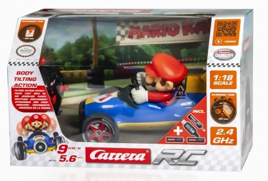 Carrera Mario Kart Mach 8 Recensione