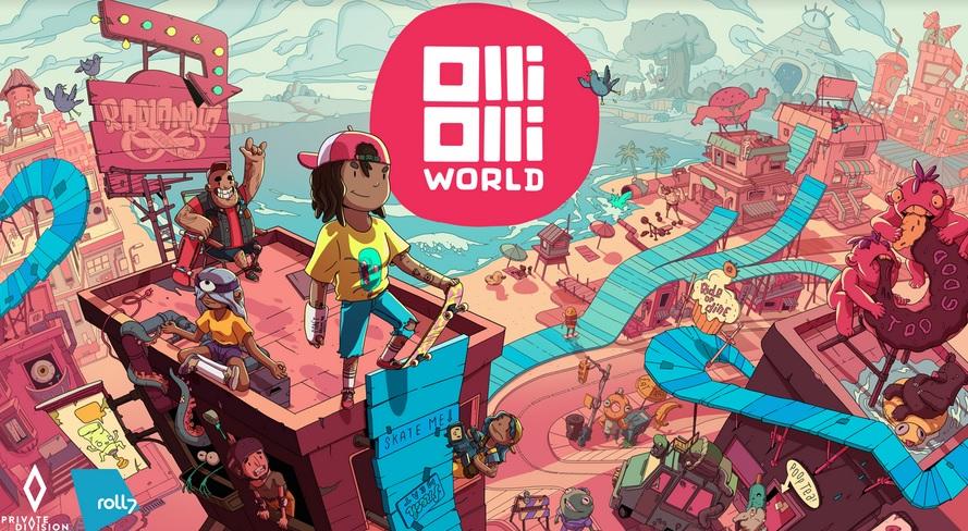 OlliOlli World: trailer dedicato ai personaggi