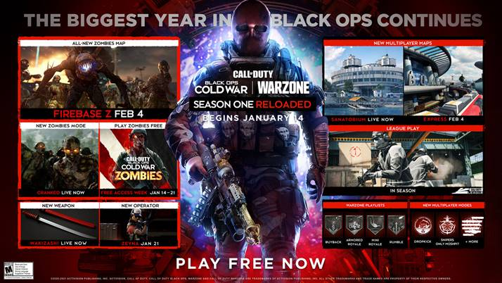 Call of Duty Black Ops: Cold War la Stagione 1 continua