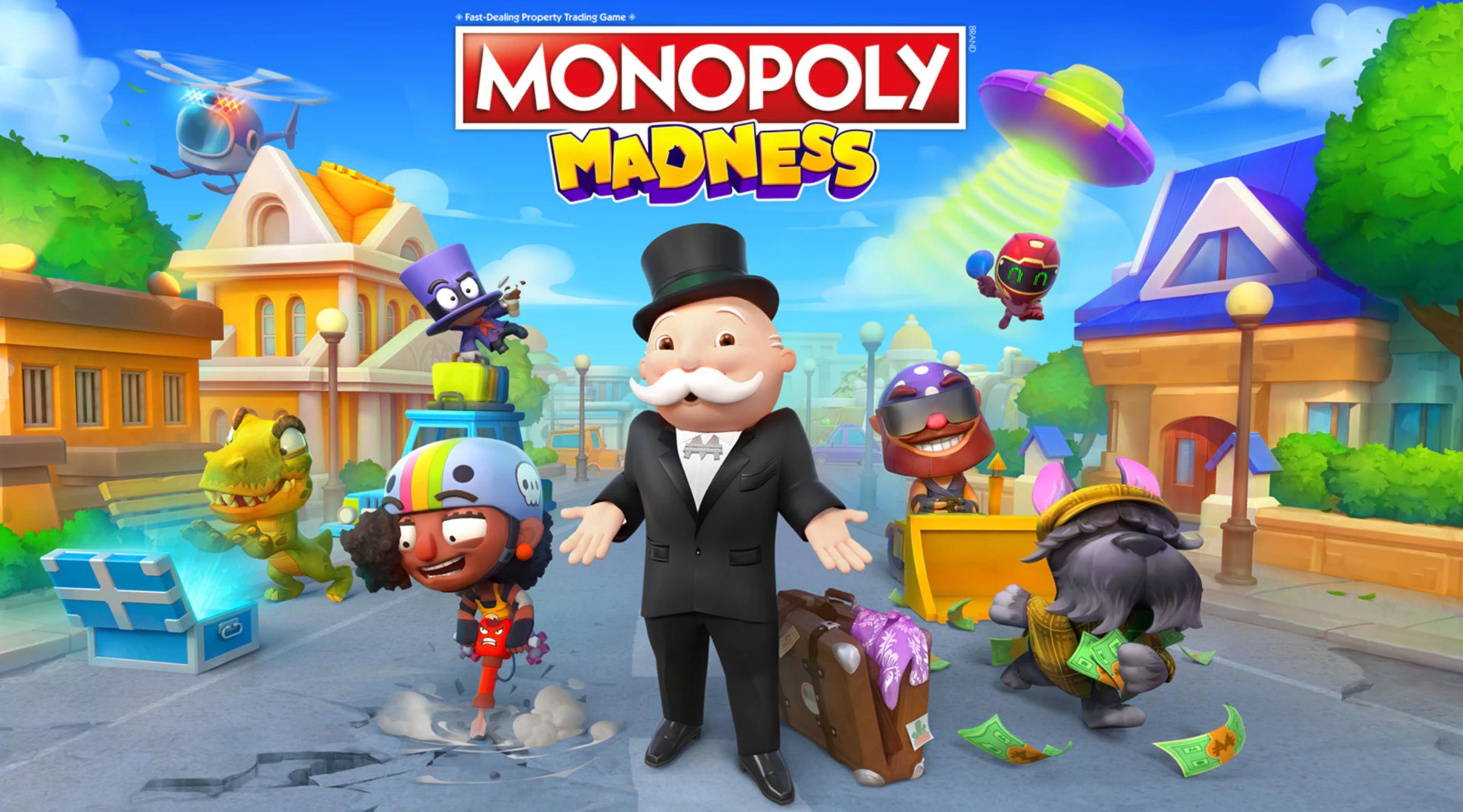 MONOPOLY Madness un videogioco che reinventa il classico MONOPOLY