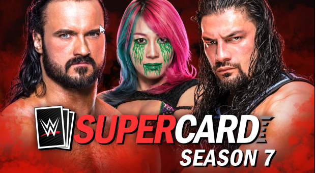 WWE SuperCard Season 7 arriva su iOS, Android e Facebook Gaming