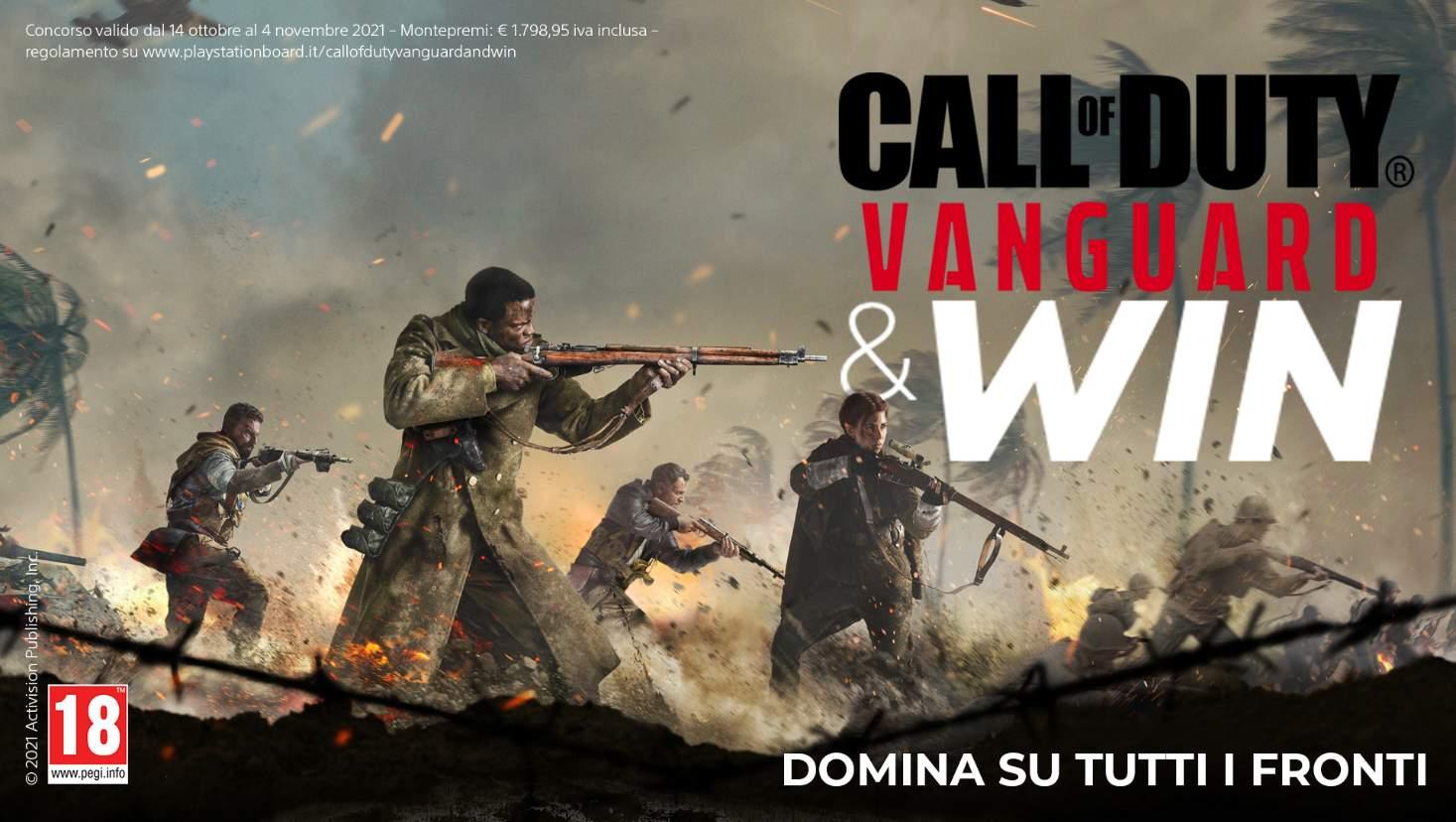 Call of Duty Vanguard: da oggi un nuovo contest dedicato ai pre-order