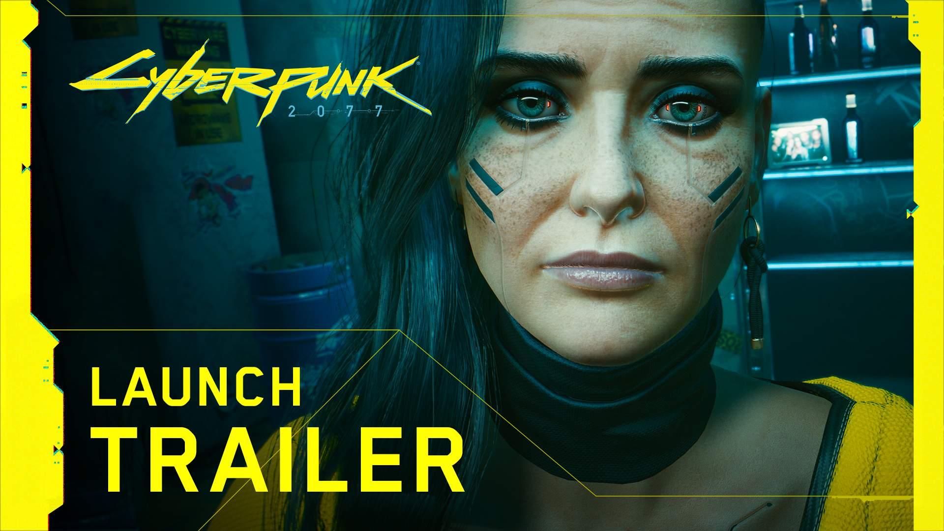 Cyberpunk 2077 trailer di lancio