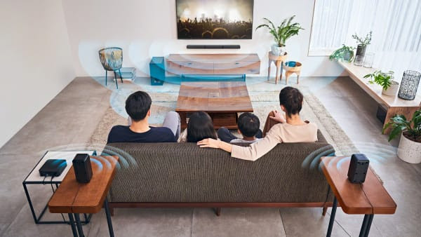 Sony HT-S40R: Audio home cinema surround a tutta potenza