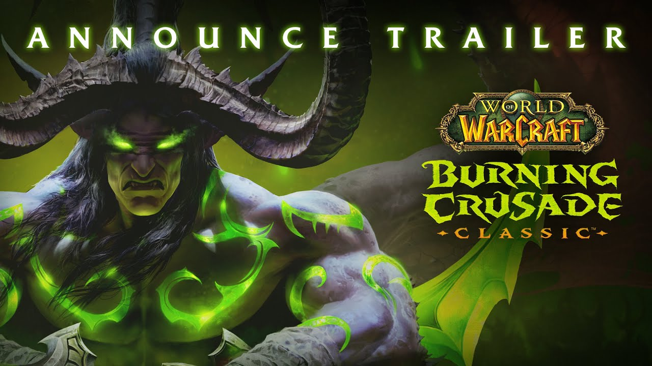World of Warcraft: Burning Crusade Classic arriva a giugno