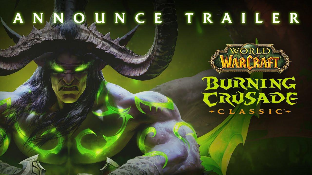 World of Warcraft: Burning Crusade Classic arriva a giugno
