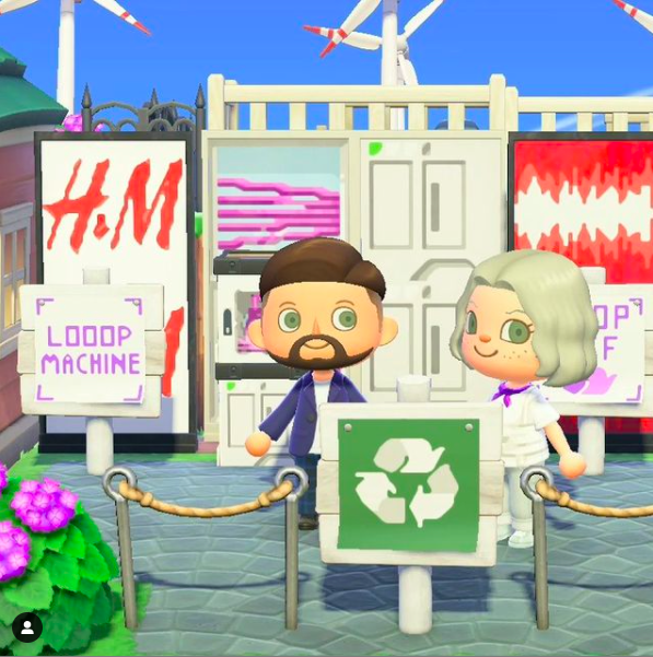 H&M e Maisie Williams sbarcano in Animal Crossing: New Horizons
