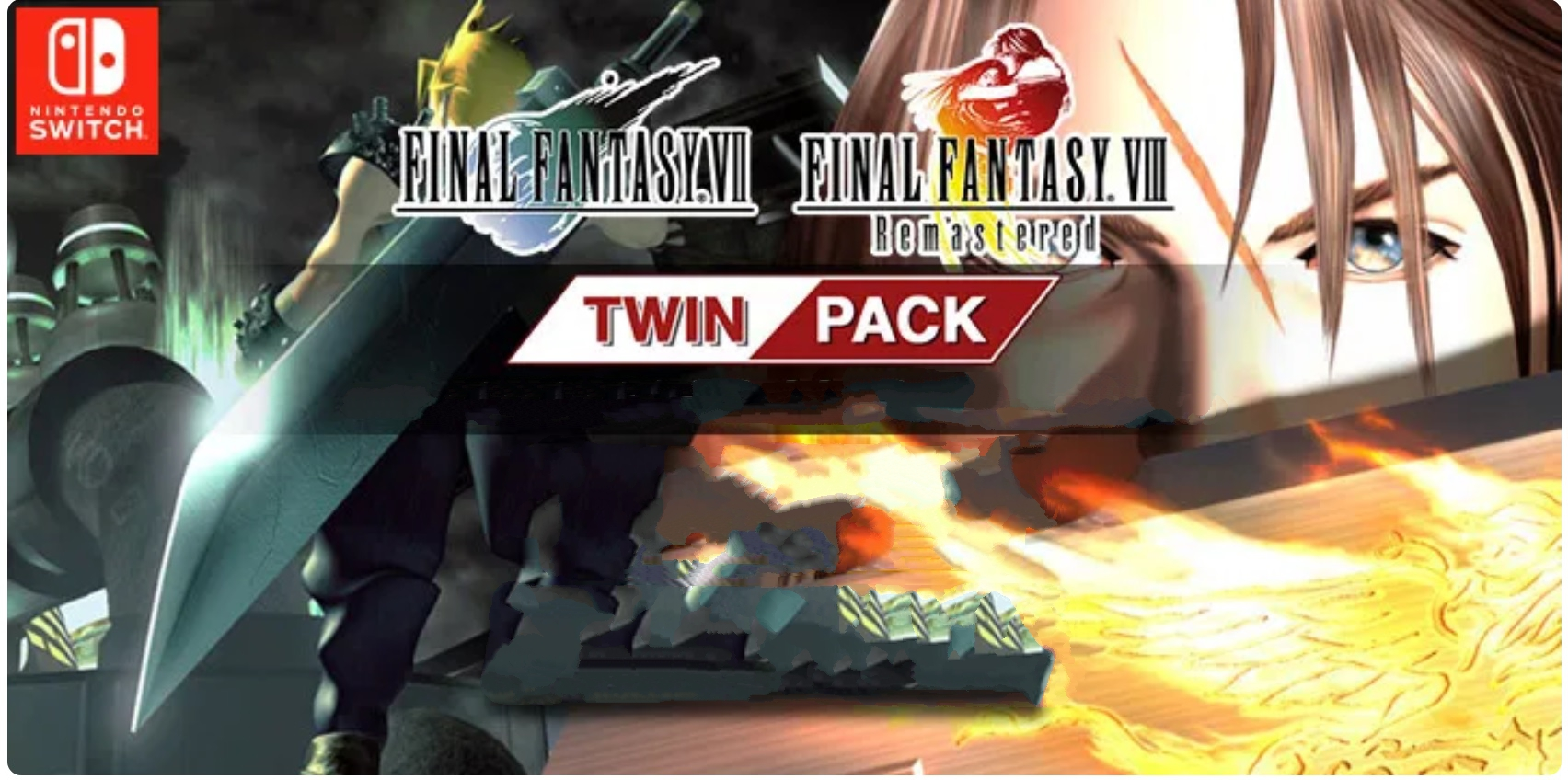 Final Fantasy VII e VIII twin-pack a dicembre su Nintendo Switch
