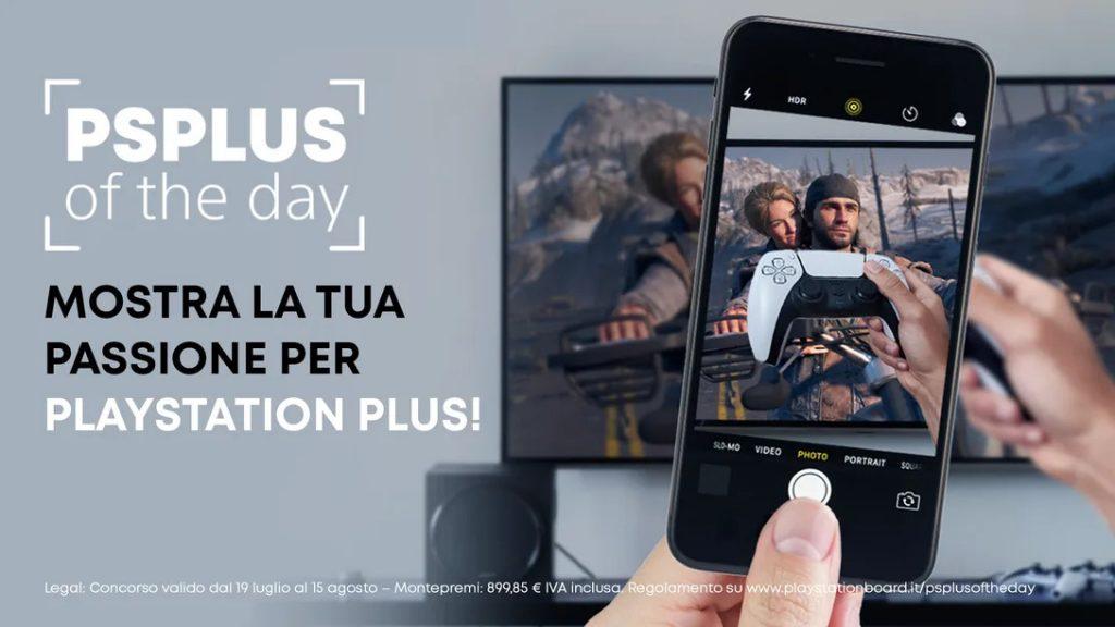 PS Plus of the Day: mostra la tua passione per PlayStation Plus!
