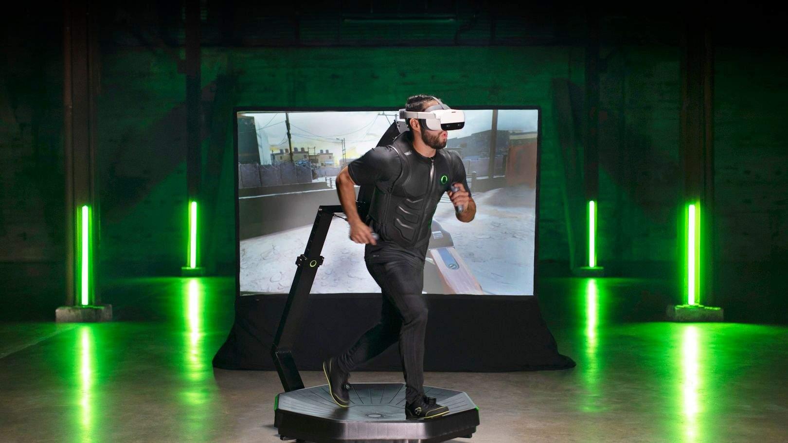 VR di Virtuix One: il futuro del gioco è qui