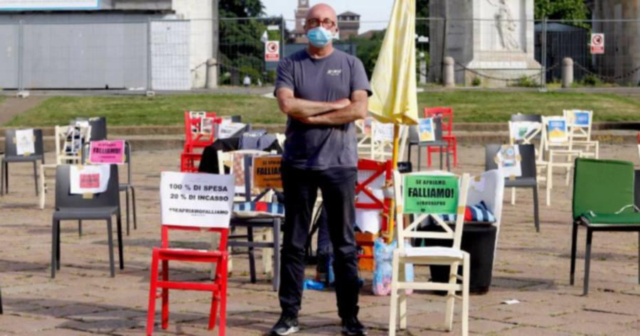 Paolo Polli, il ristoratore in sciopero della fame da 8 giorni: chi piange per lui?