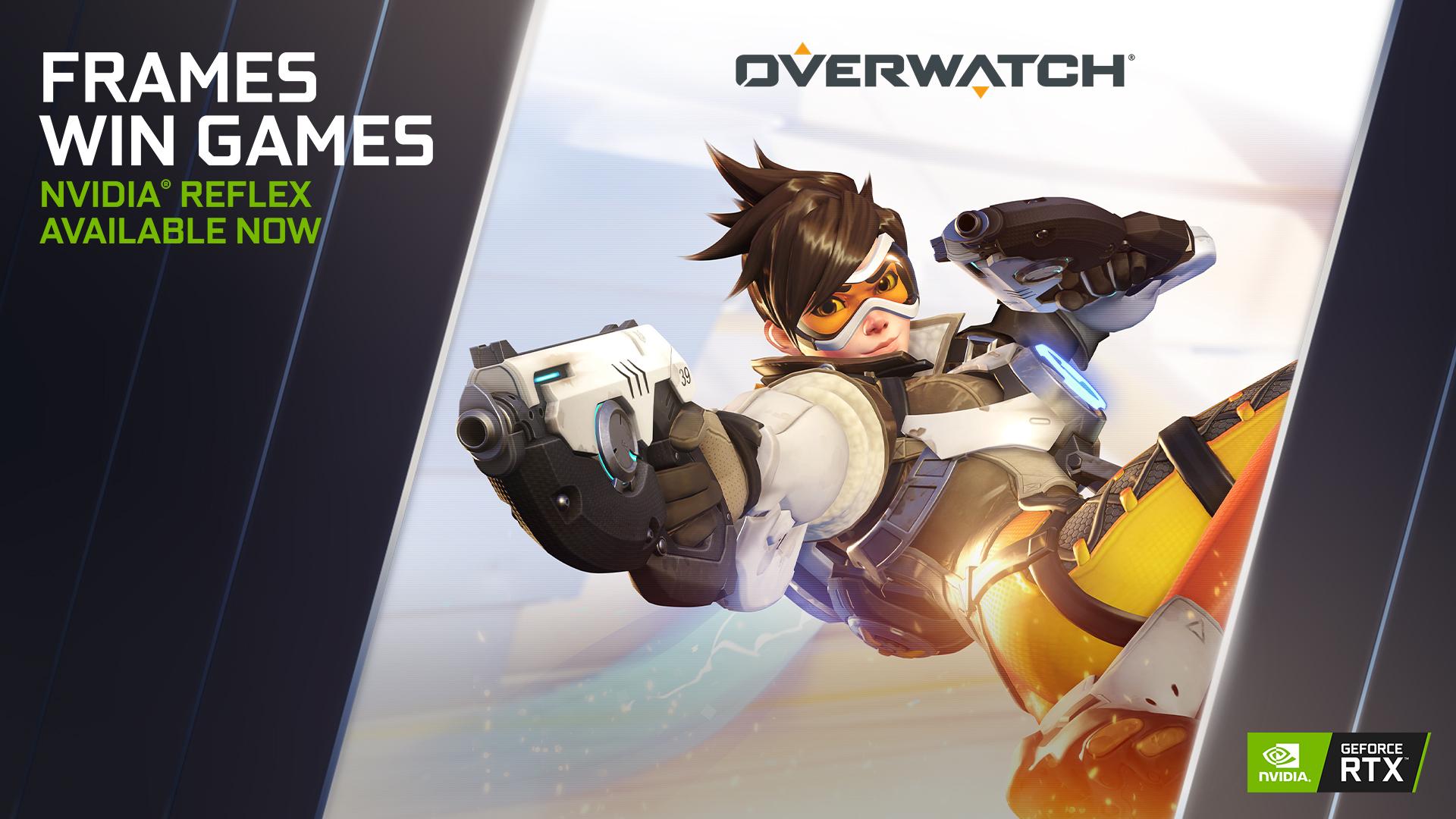 Overwatch: dimezzato il tempo di risposta grazie a NVIDIA Reflex