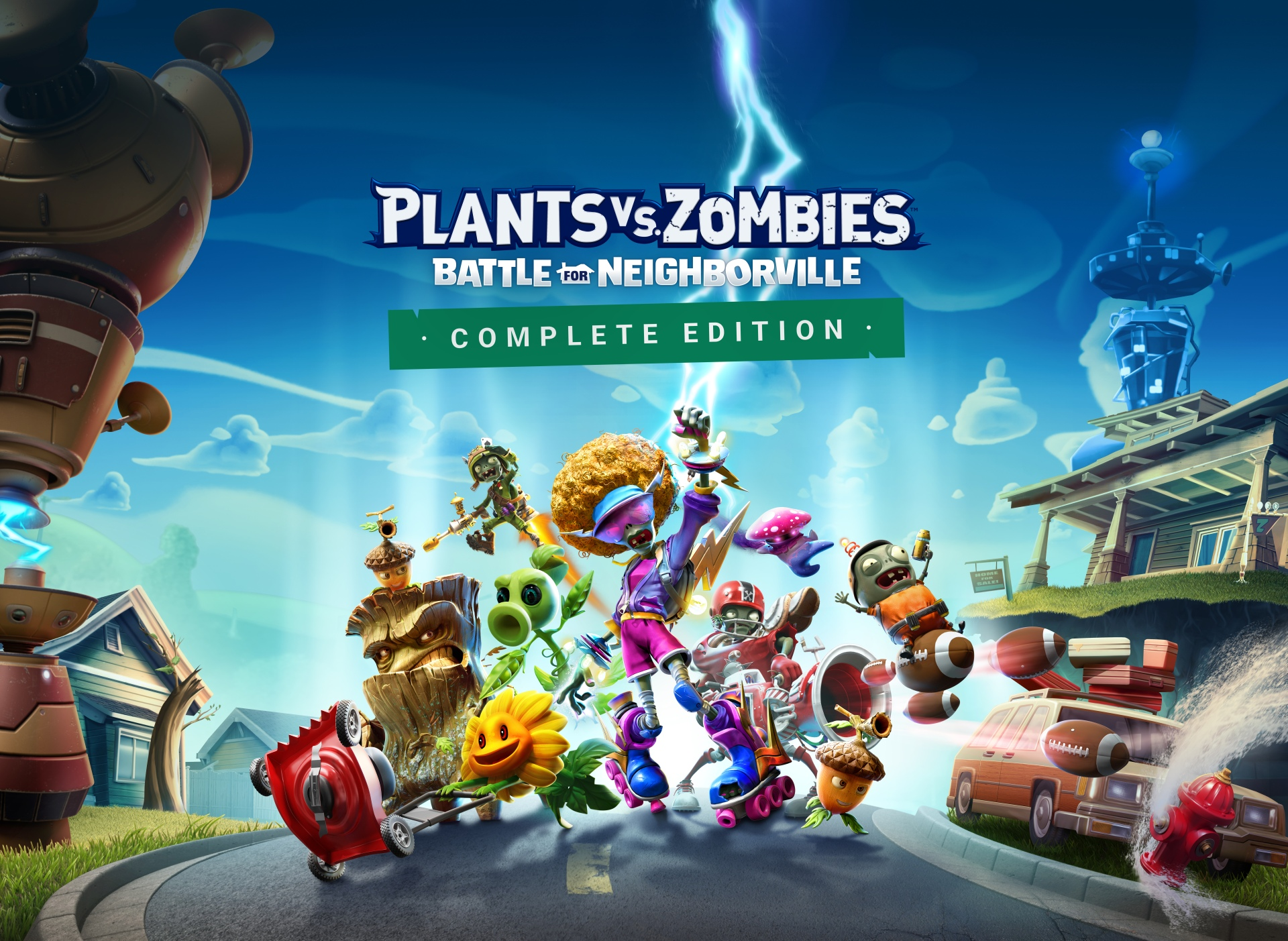 PLANTS VS. ZOMBIES: BATTLE FOR NEIGHBORVILLE SU NINTENDO SWITCH