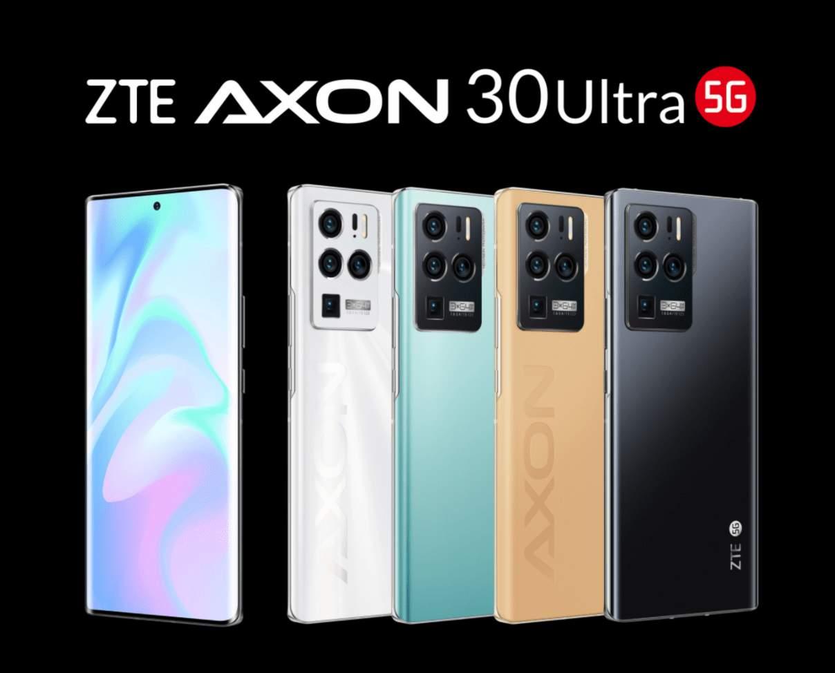ZTE Axon 30 Ultra da oggi in vendita