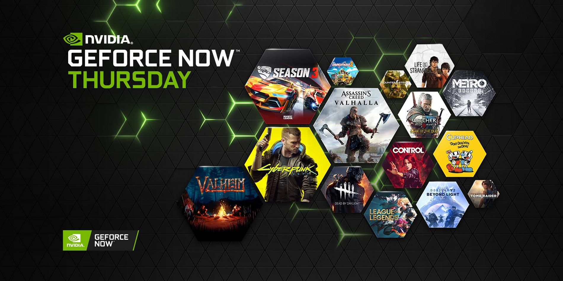 GeForce NOW: in arrivo sul servizio il 1.000° gioco per PC