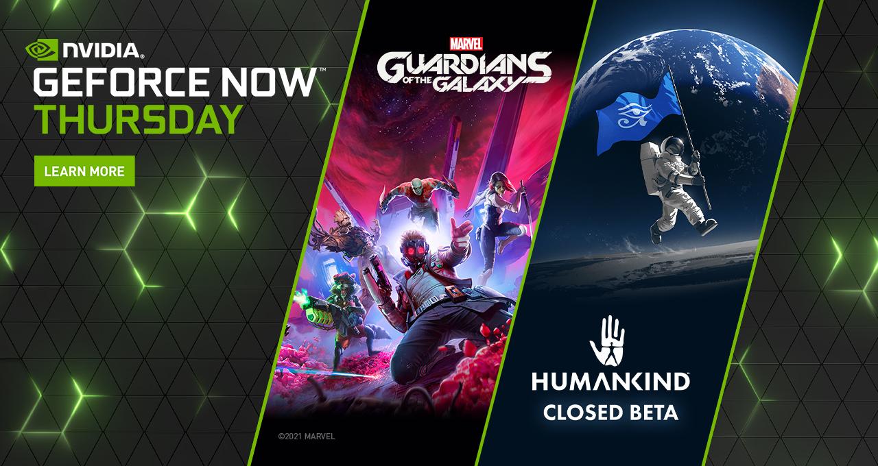 GeForce NOW: arrivano The Guardians, Humankind e 10 nuovi giochi
