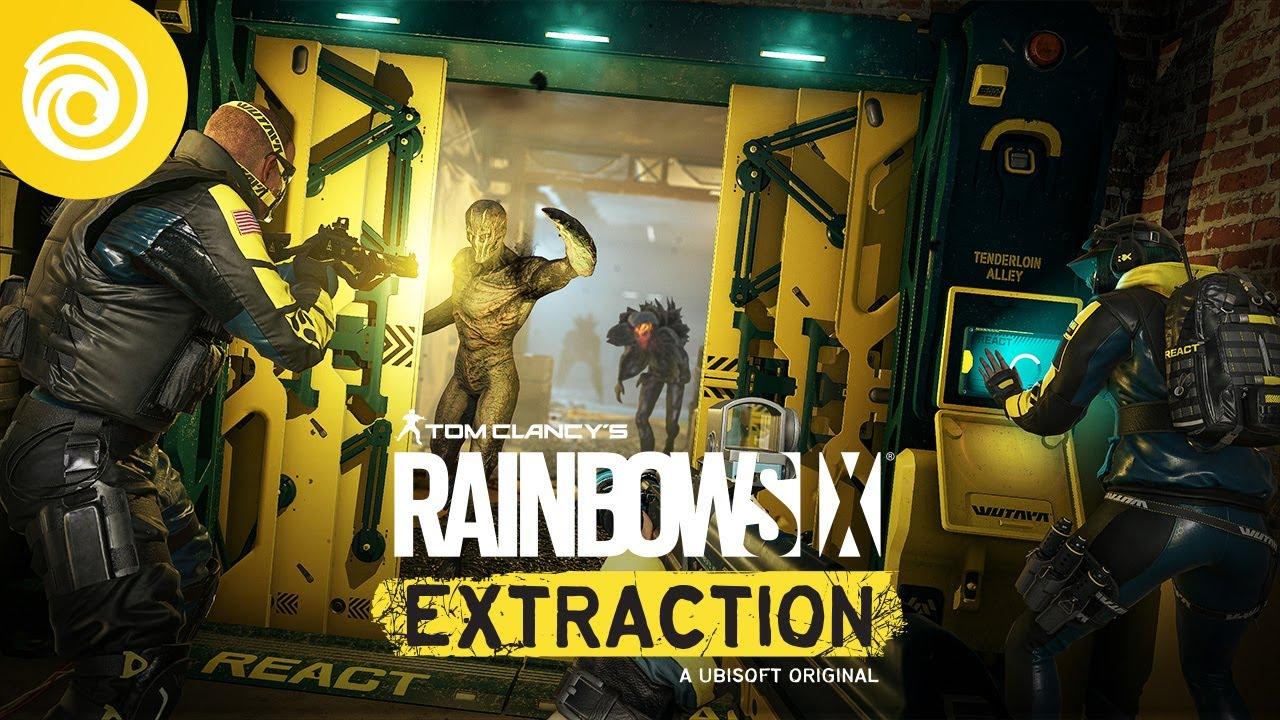 Rainbow Six Extraction il Trailer al PlayStation Showcase 2021