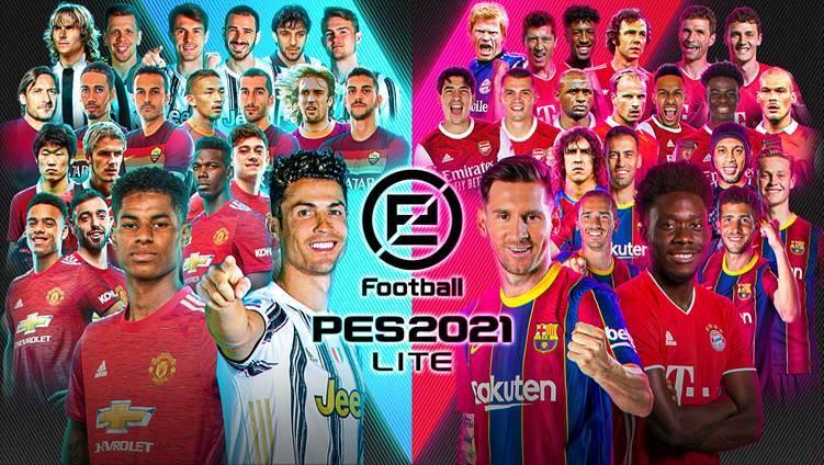 eFootball PES 2021 LITE, DISPONIBILE GRATIS DA OGGI