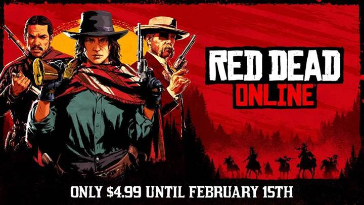 Red Dead Online: versione indipendente a €4,99