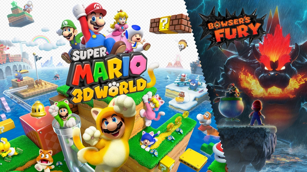 Super Mario 3D World + Bowser's Fury arriva oggi