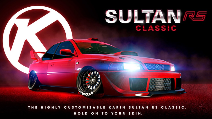 GTA Online: arriva la Karin Sultan RS Classic