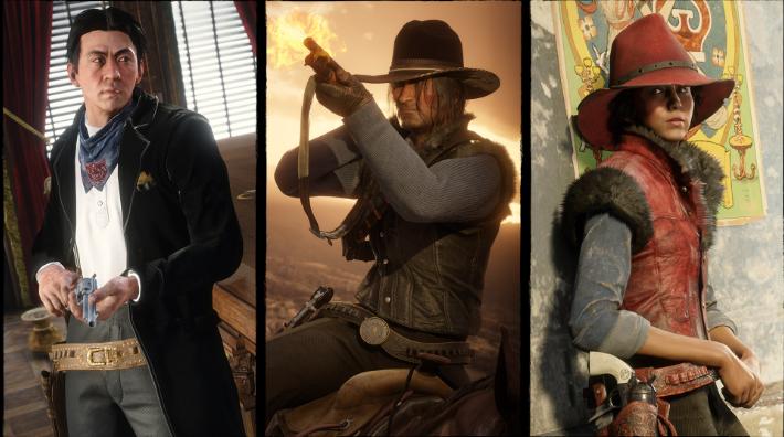 Red Dead Online: bonus sui set di carte e abbigliamento