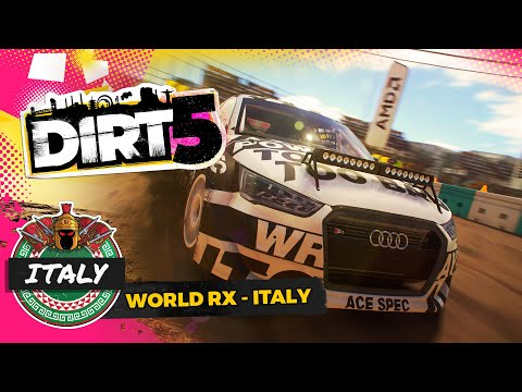 DIRT 5 Rallycross Racing Italy Circuit Gameplay