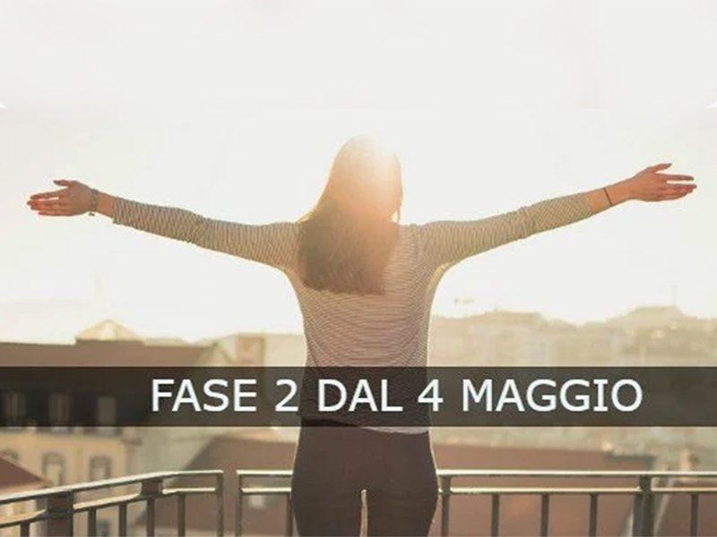 4 maggio: milioni di italiani tornano a lavoro e si può uscire di più. La Fase2
