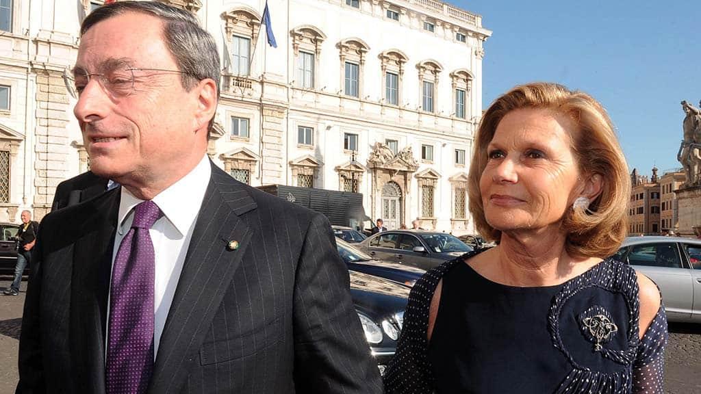 Serena Cappello chi è la moglie di Mario Draghi