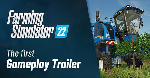 Farming Simulator 22 primo trailer di gameplay alla gamescom 2021
