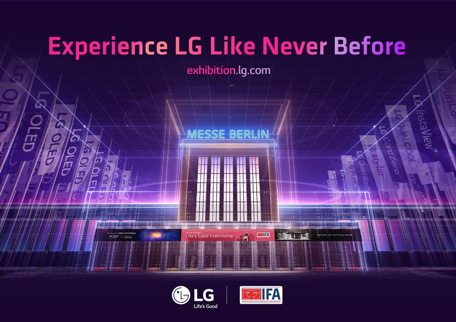 IFA 2020: LG INAUGURA LO STAND VIRTUALE