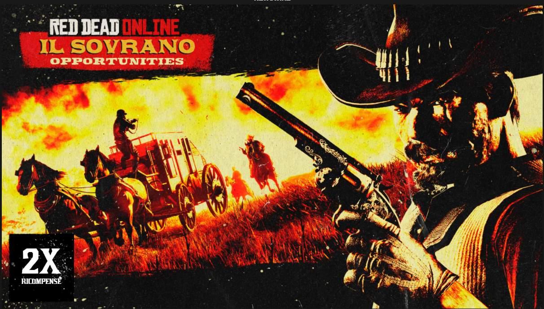 Red Dead Online: RDO$ e PE doppi rubando Il Sovrano