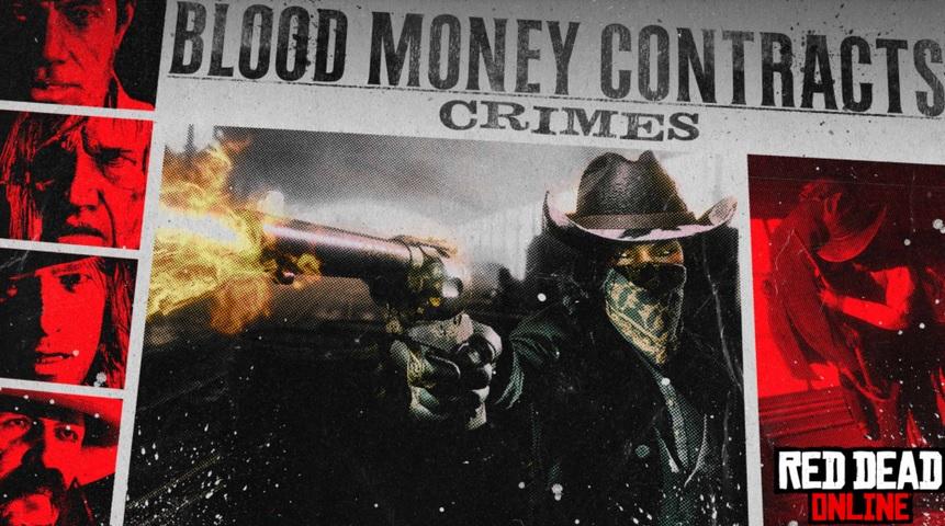 Red Dead Online: bonus con i contratti di Blood Money