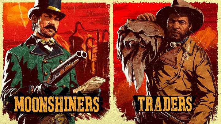 Red Dead Online: bonus per commercianti, distillatori e altro