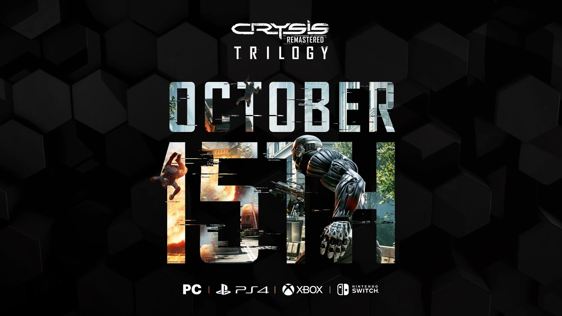 Crysis Remastered Trilogy in arrivo a ottobre