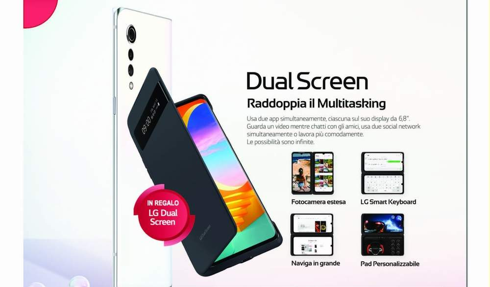 LG VELVET REGALA IL DUAL SCREEN!