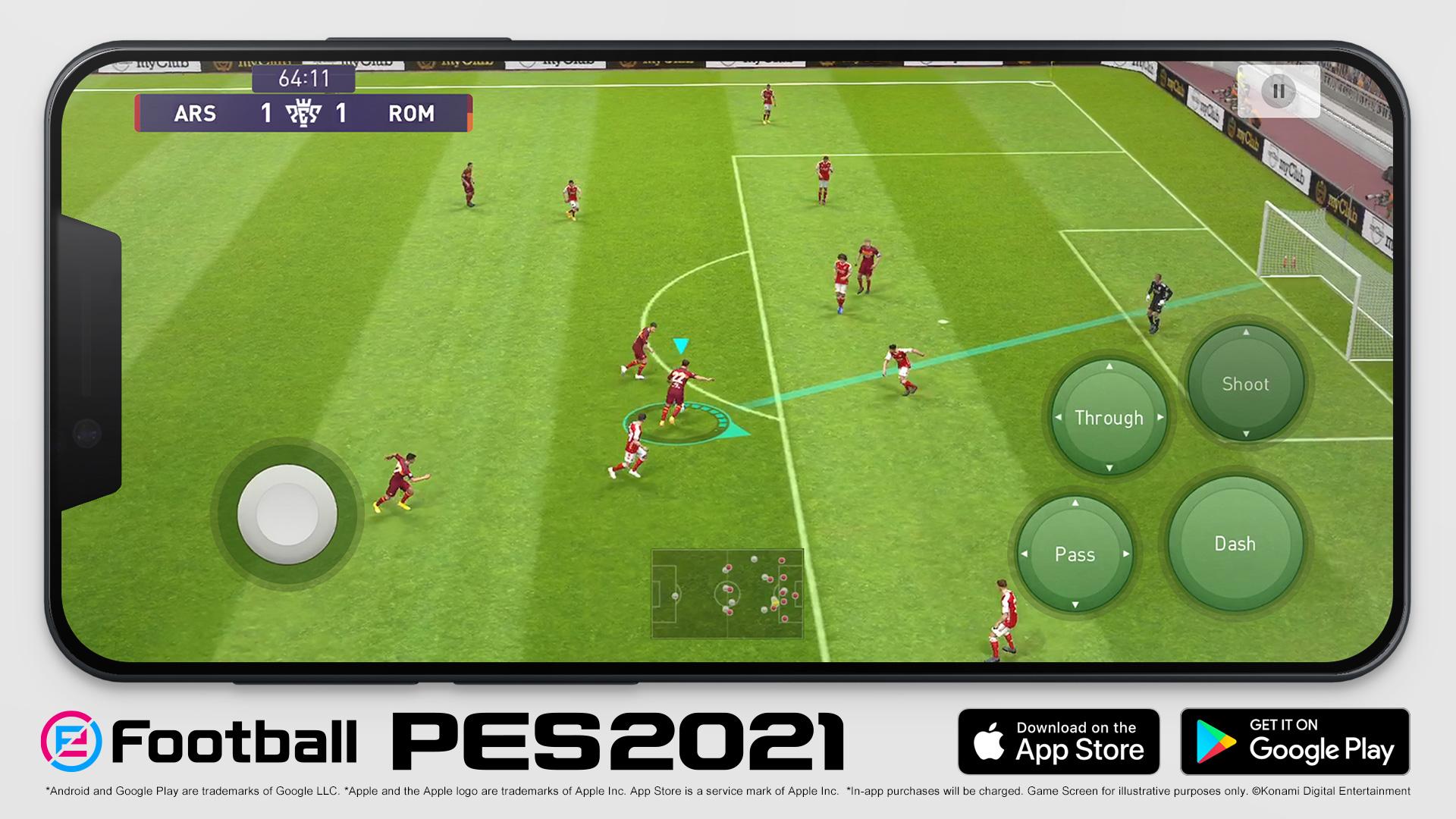KONAMI eFootball PES 2021 MOBILE